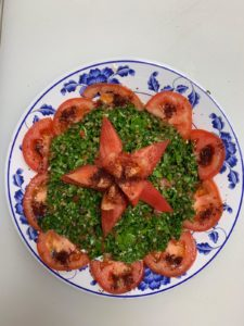 Taboula Salad halal restaurant schaumburg